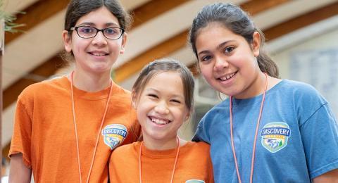 Kids at VOP Vacation Bible School Program